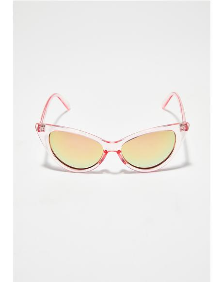 Candy Last Call Cat-Eye Sunglasses