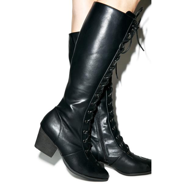 Y.R.U. Aura Knee High Boots