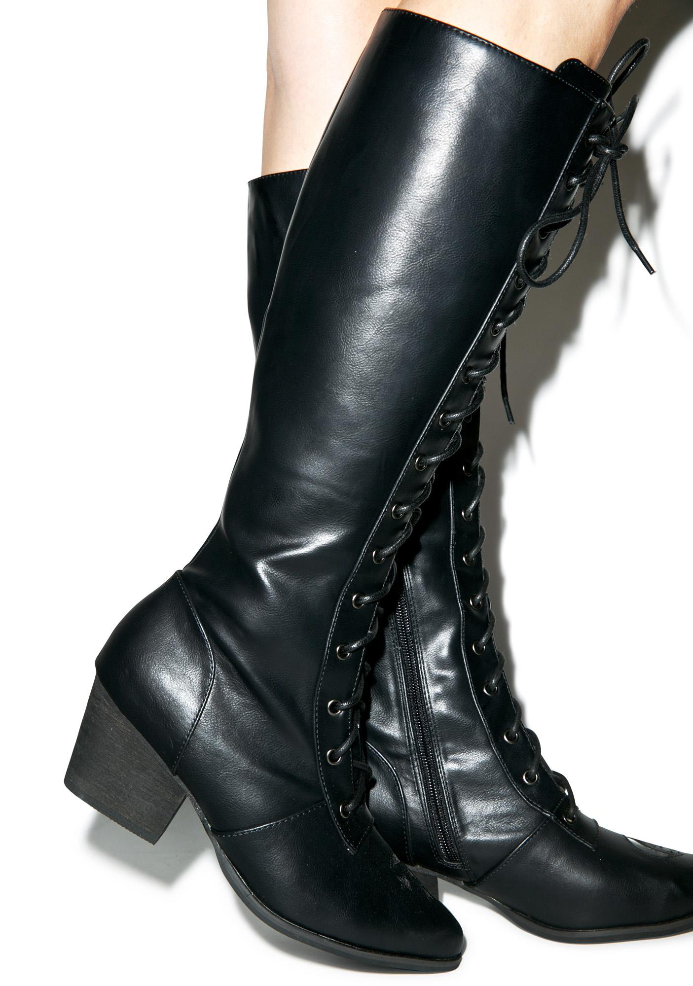 Y.R.U. Aura Knee High Boots