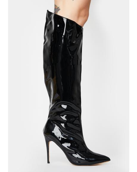 Thriller Knee High Boots