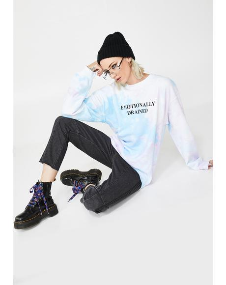 Emotionally Drained Pullover