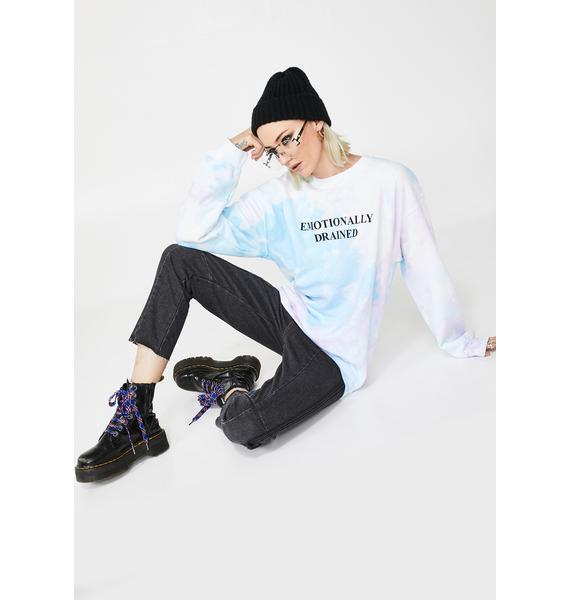 Skinnydip Emotionally Drained Pullover