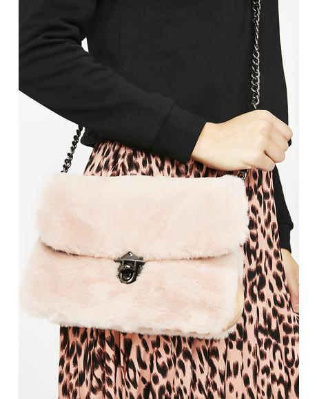 Miss Lady Luxe Faux Fur Bag