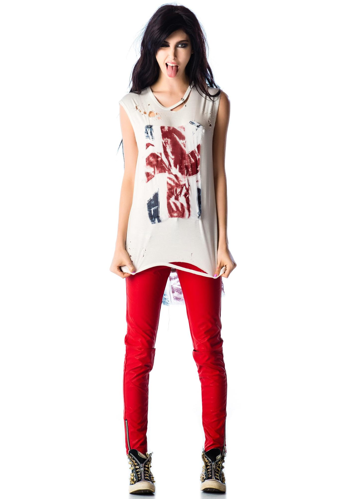 Kill City Union Jack Muscle Tee