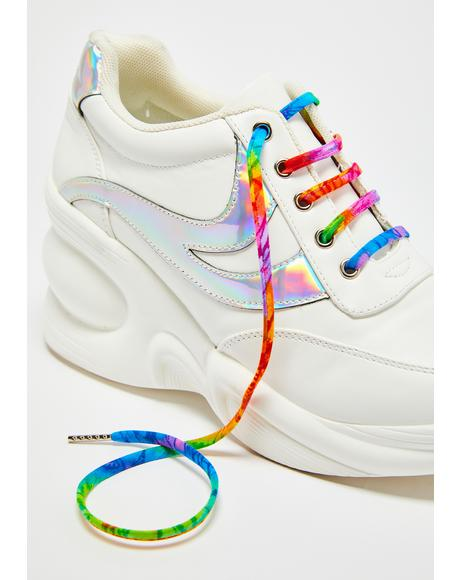 Tie Dye Shoelaces