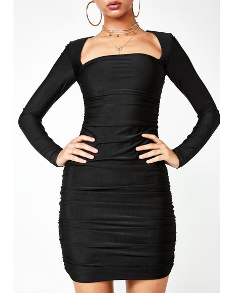 Tully Ruched Dress