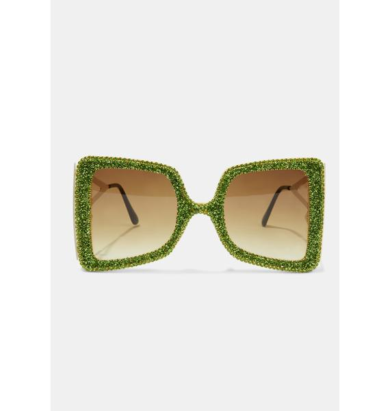 Dude Act Fast Oversized Sunglasses