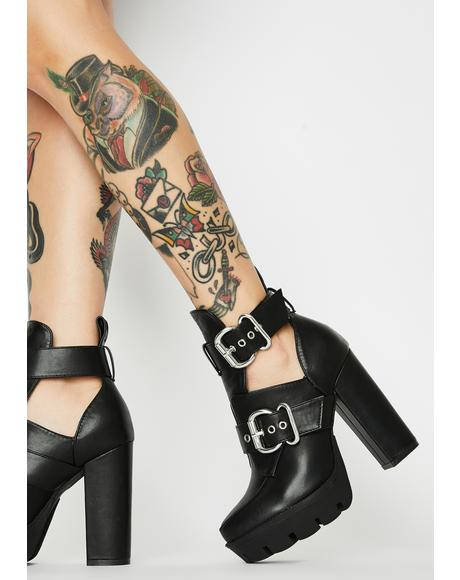 Who Run The World Heeled Boots