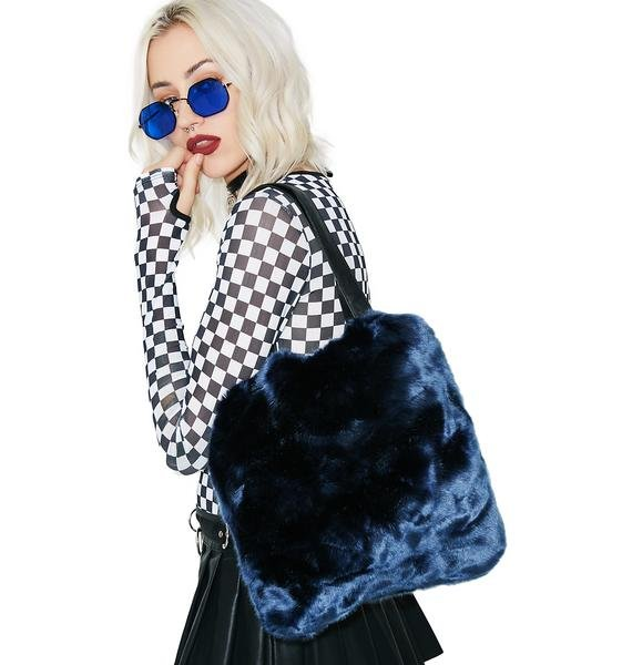 Soft Touch Furry Tote