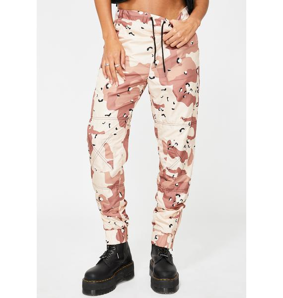 ETHIK Desert Camo Outpost Windbreaker Pants