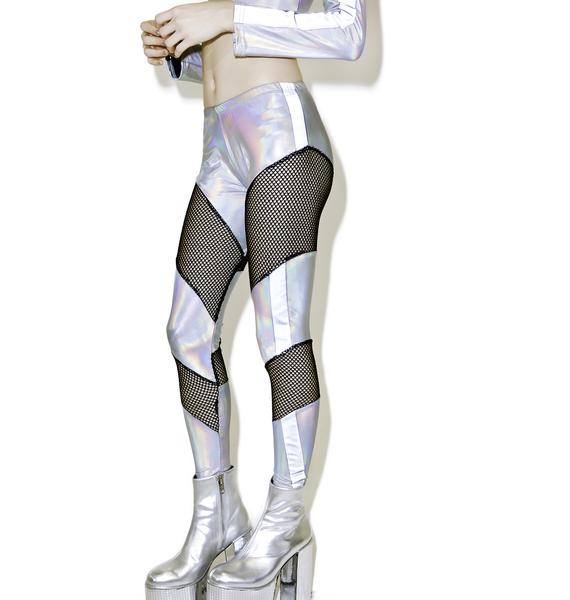 ESQAPE Reflective Mesh Leggings