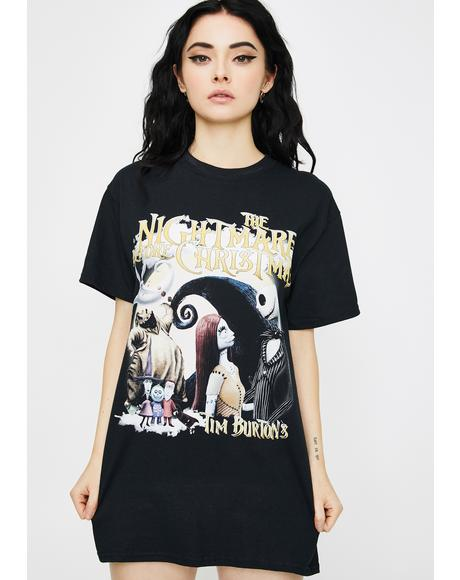 Haunted Holiday Graphic Tee