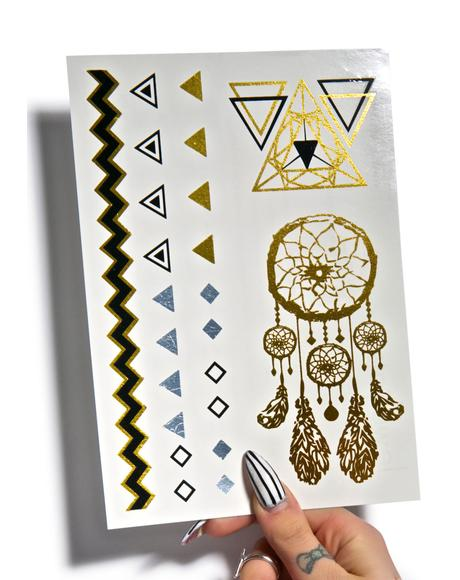 Egyptian Jewel Temp Tattoo