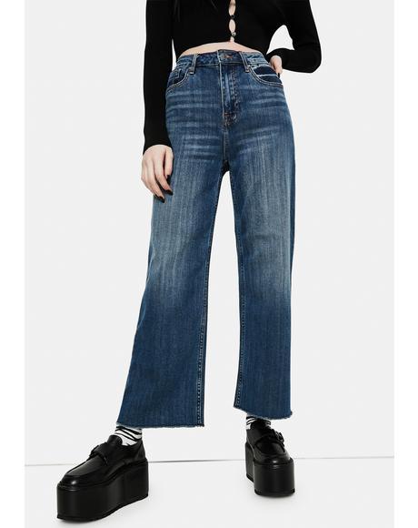 Dylan Wide Leg Jeans