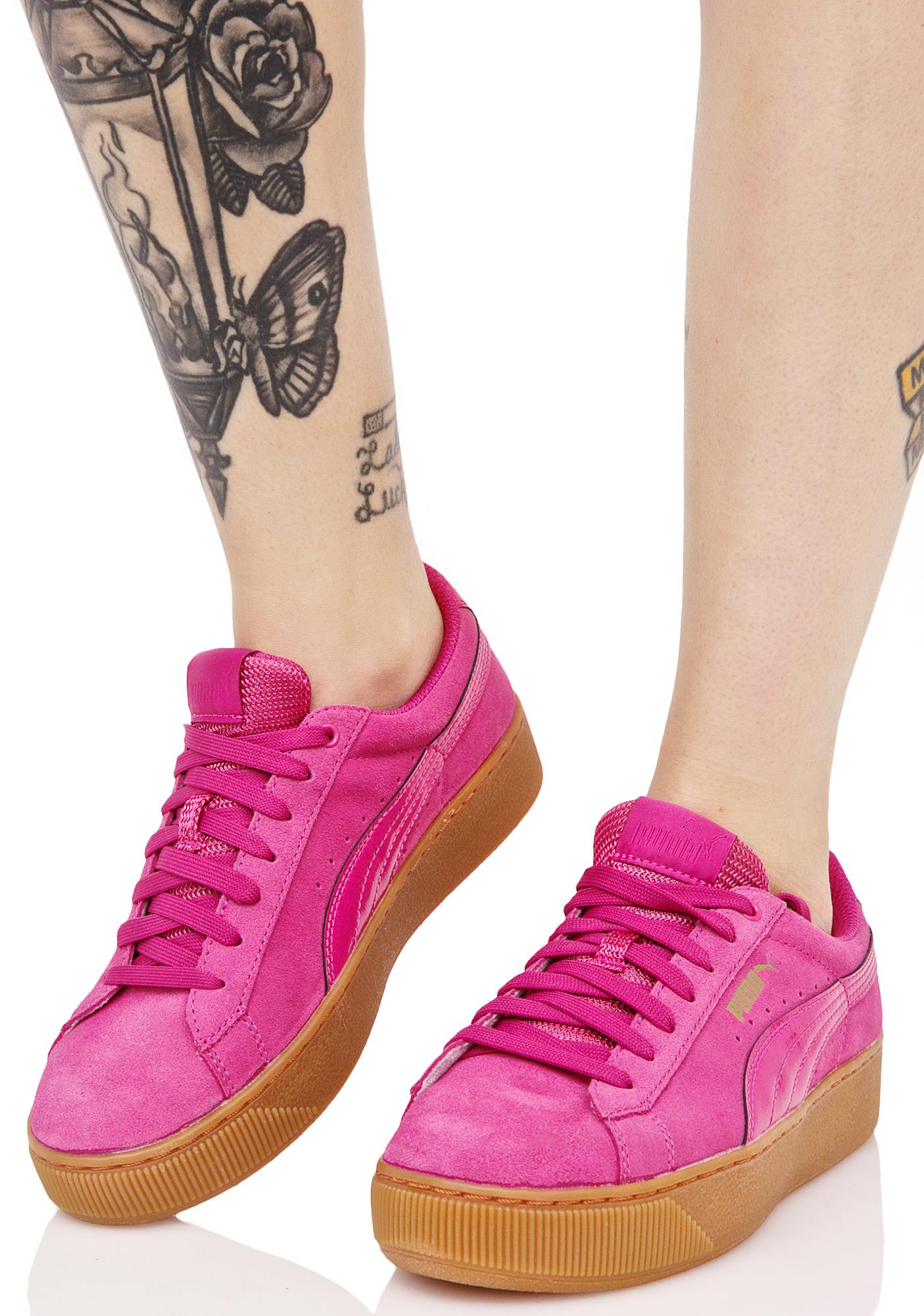 b19fe247dc3 PUMA Vikky Platform Sneakers