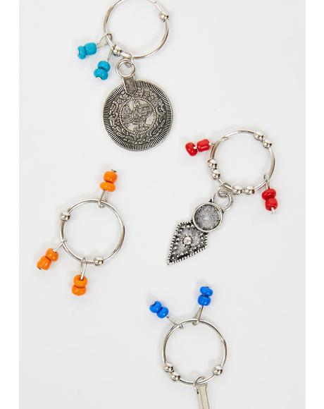 Divine Time Hair Charms
