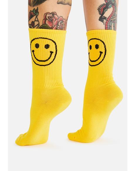 Happy Dayz Crew Socks