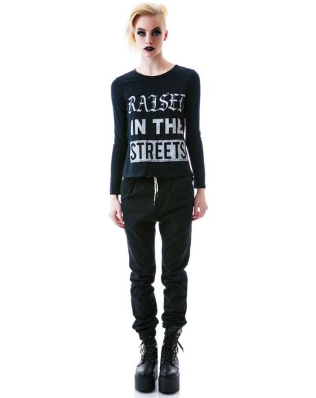 Raised in the Streets Long Sleeve Tee