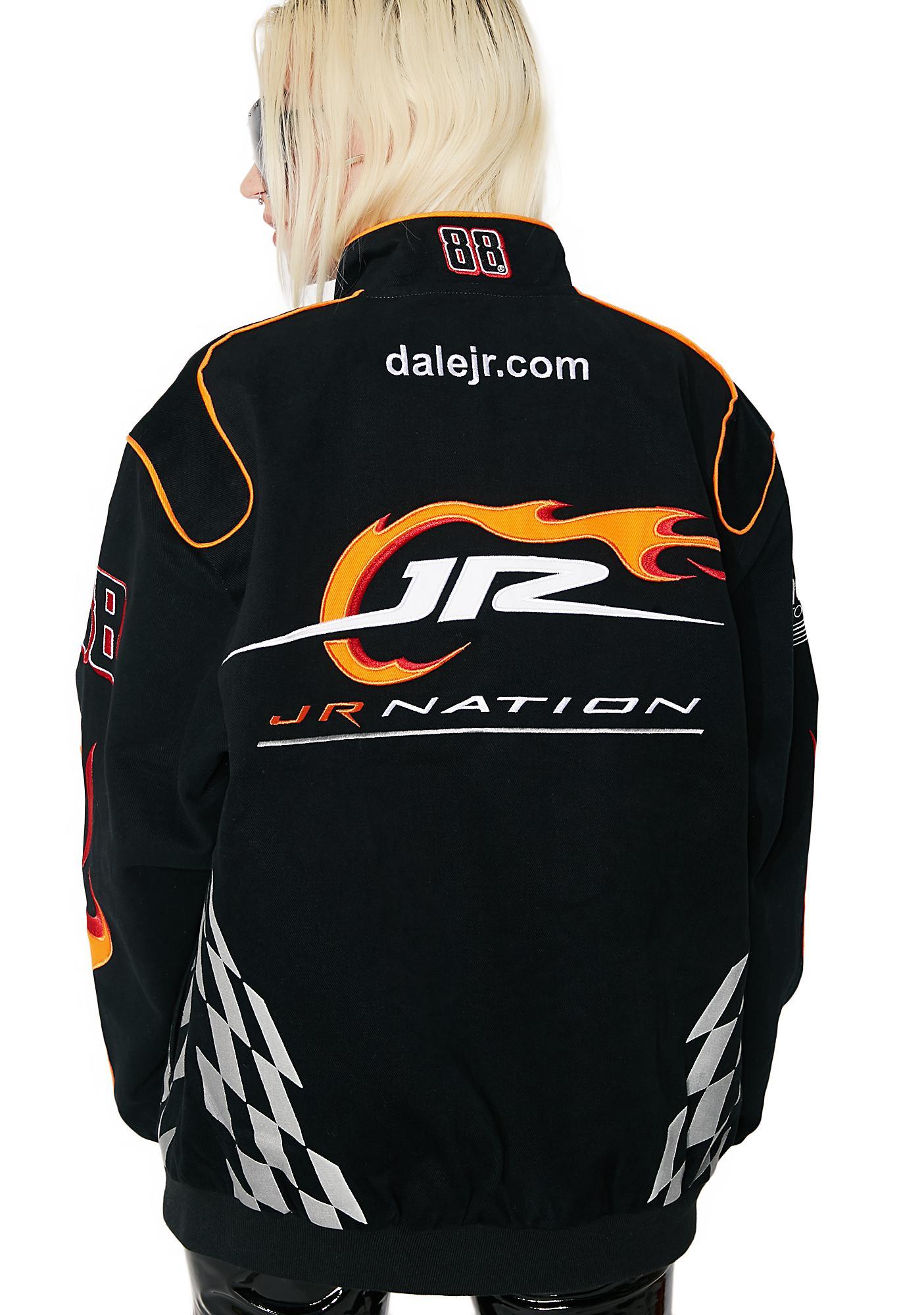 """Dale Earnhardt Jr. """"Jr Nation"""" NASCAR Twill Jacket"""
