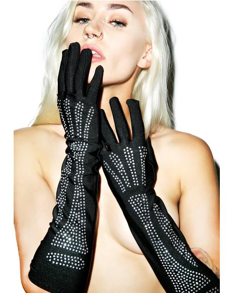 My Bonez Bling Gloves