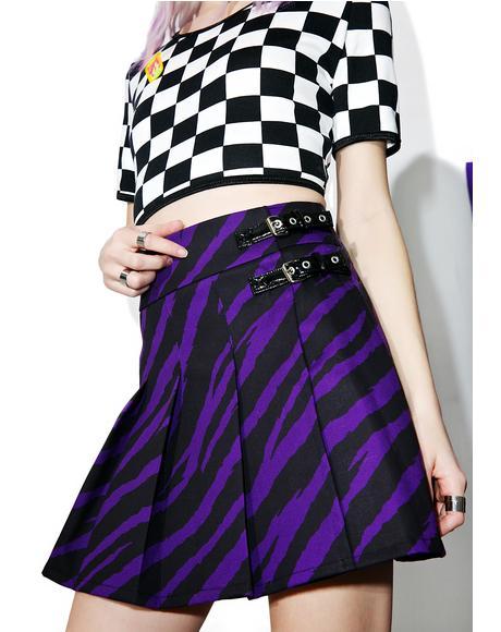 Purple Fendi Skirt