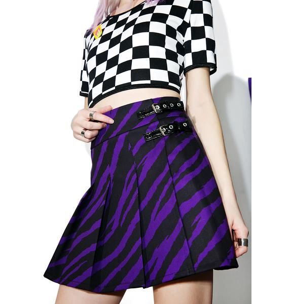 Indyanna Purple Fendi Skirt