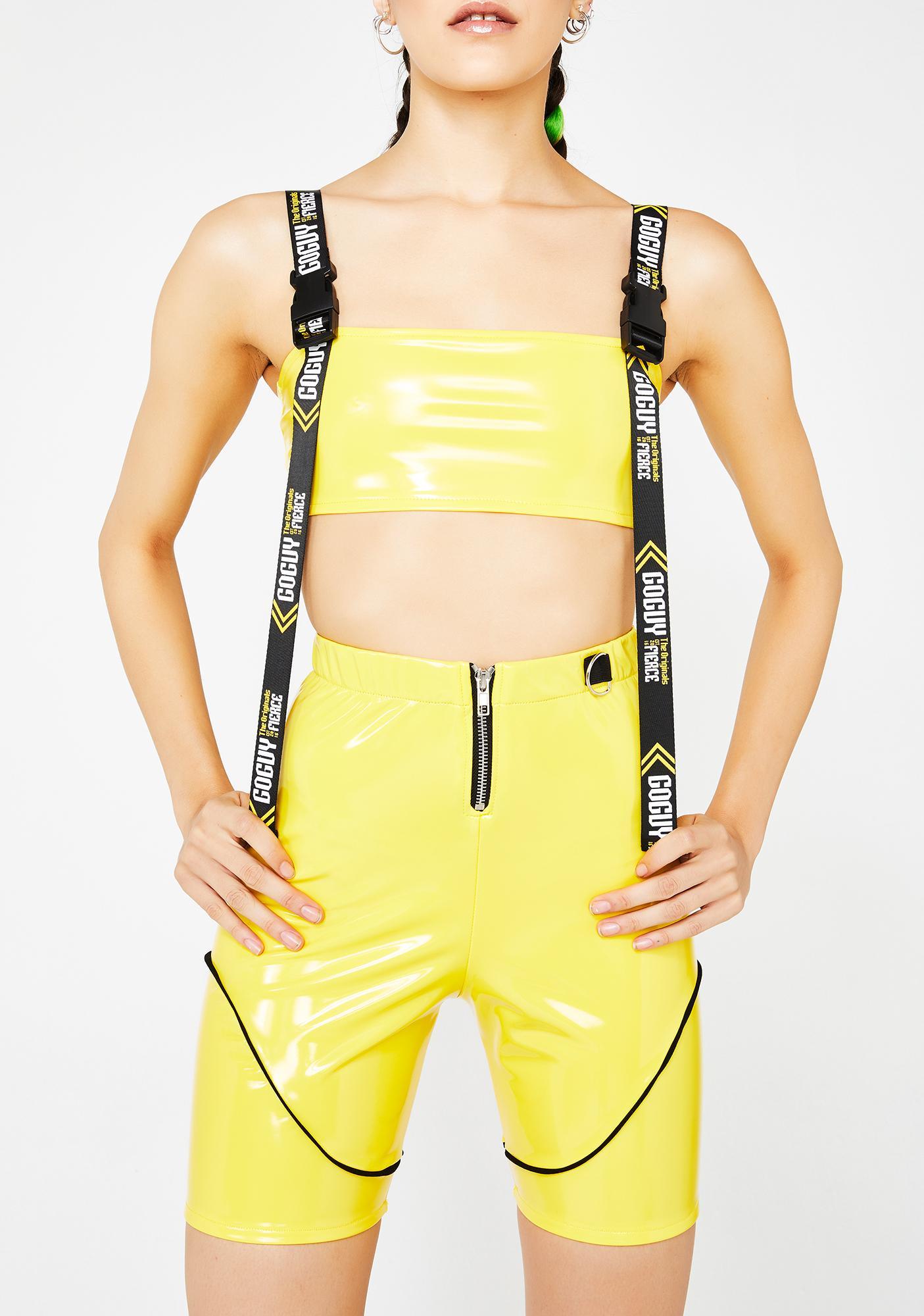 GoGuy Fierce PVC Hot Pants