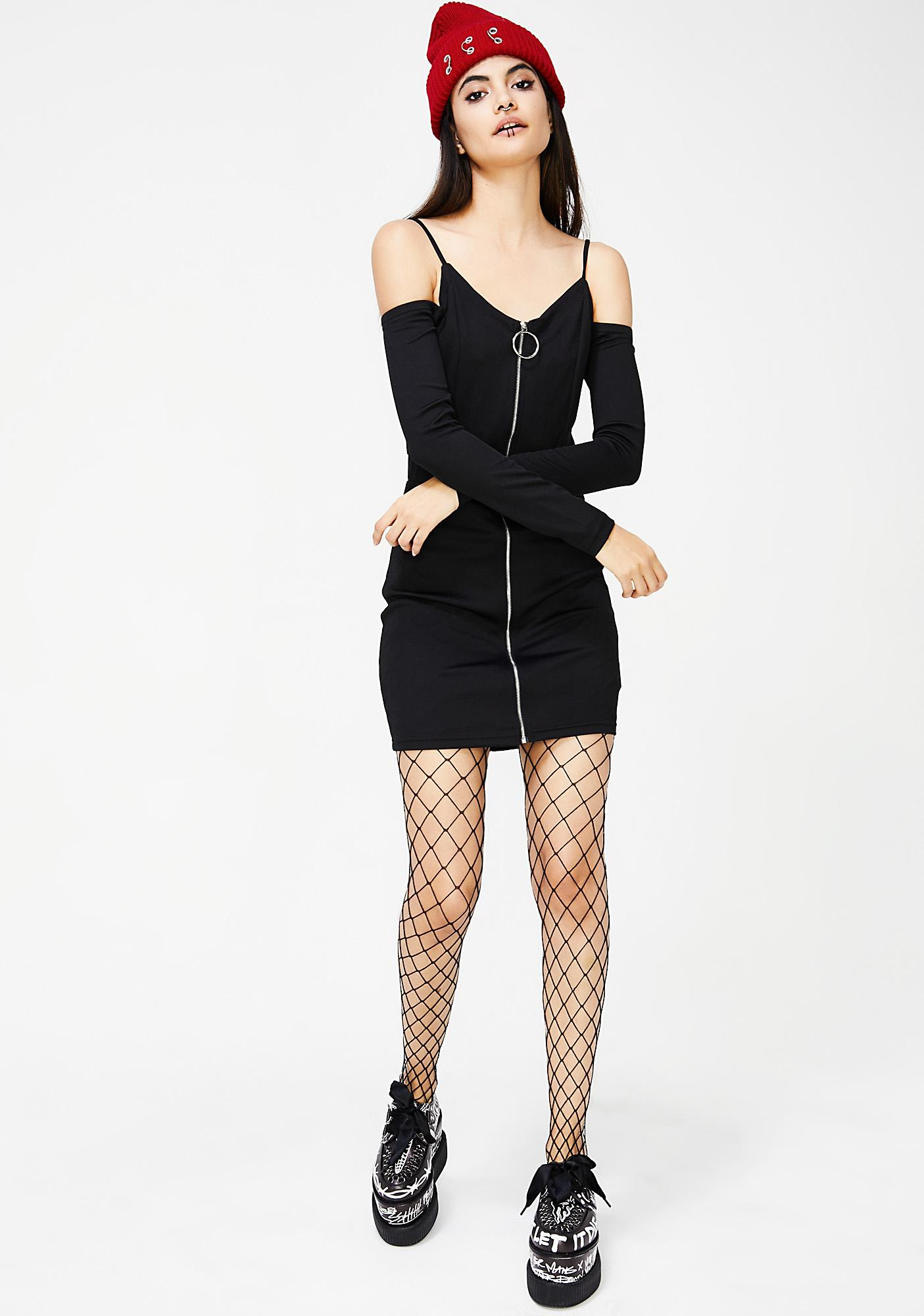 Bare It All Off Shoulder Dress