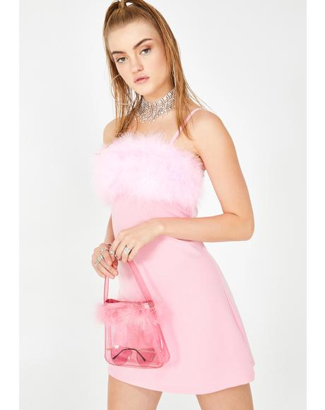 Baby Flirty N' Thriving Marabou Dress