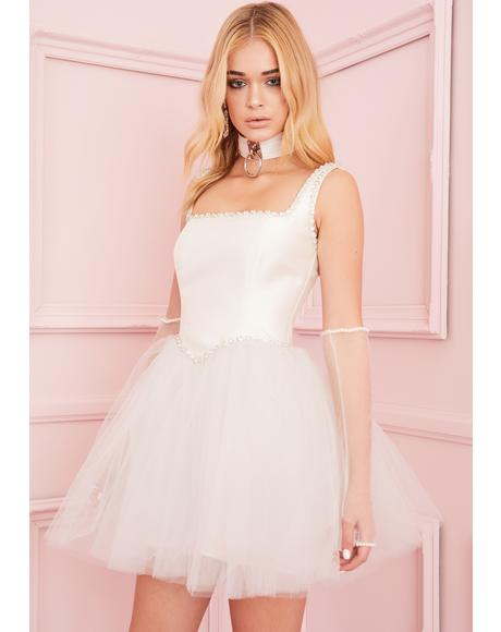 Polished Pirouette Corset Dress