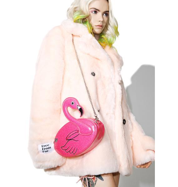 Skinnydip Flamingo Crossbody Bag