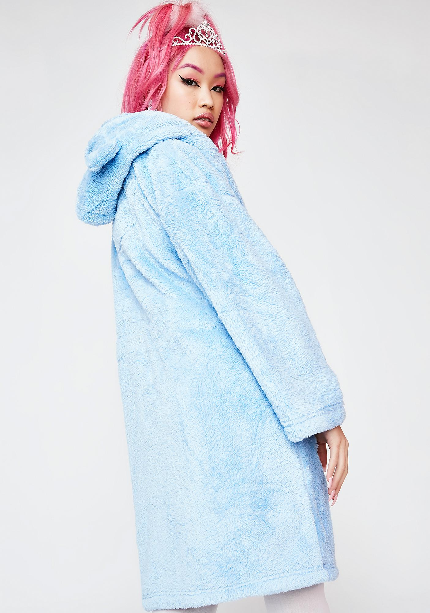 Teddy Bear Hooded Robe