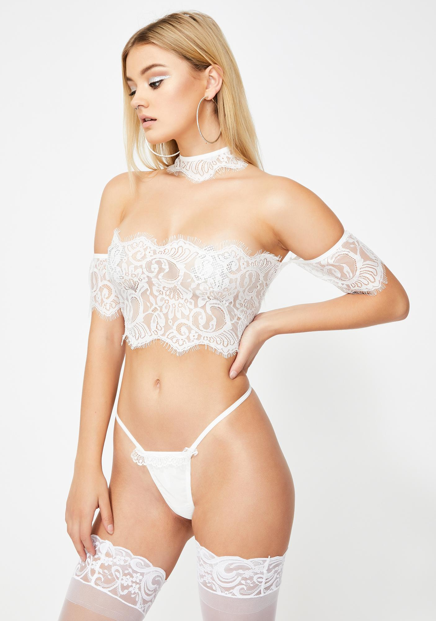 Purely Spellbound Lace Set