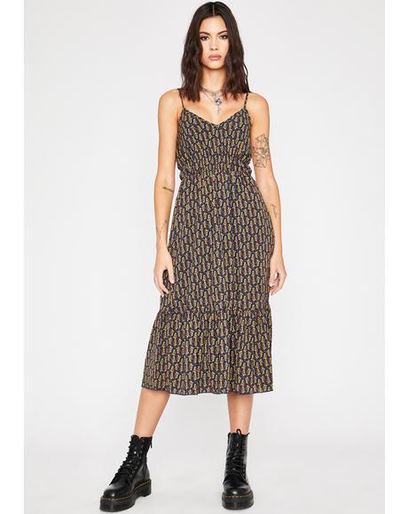 From Bohemia Midi Dress