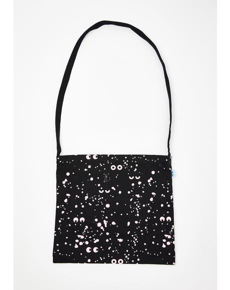 x Studio Arhoj Splatter Eyeball Mini Tote Bag