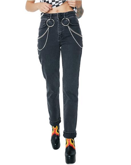 Smoke Bolt Jeans