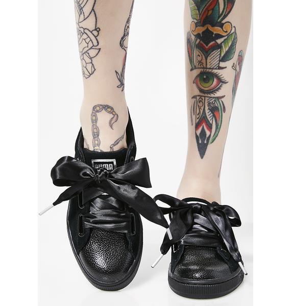 PUMA Suede Heart Bubble Sneakers