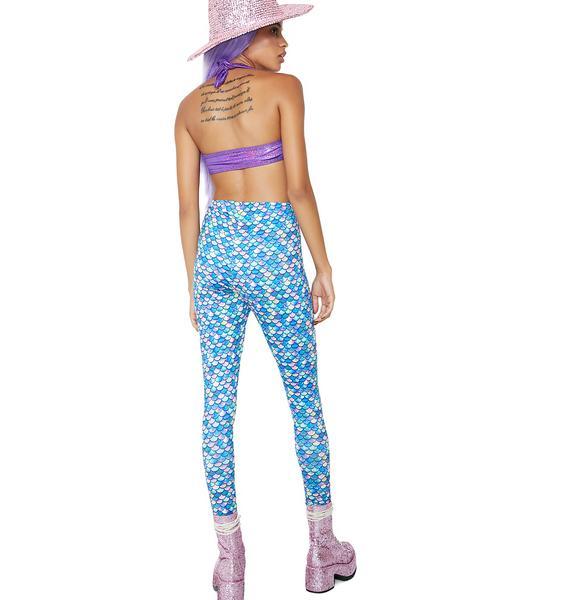 Mermaid Printed Leggings