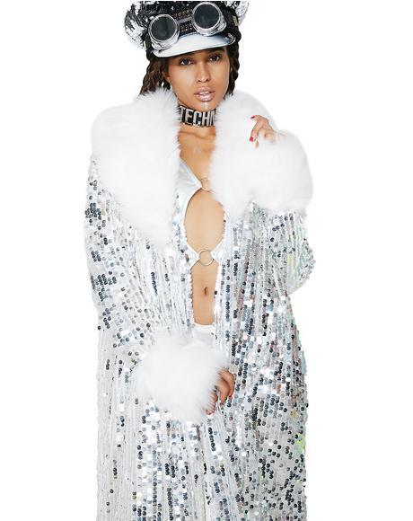 Feeling Silver Festi Coat