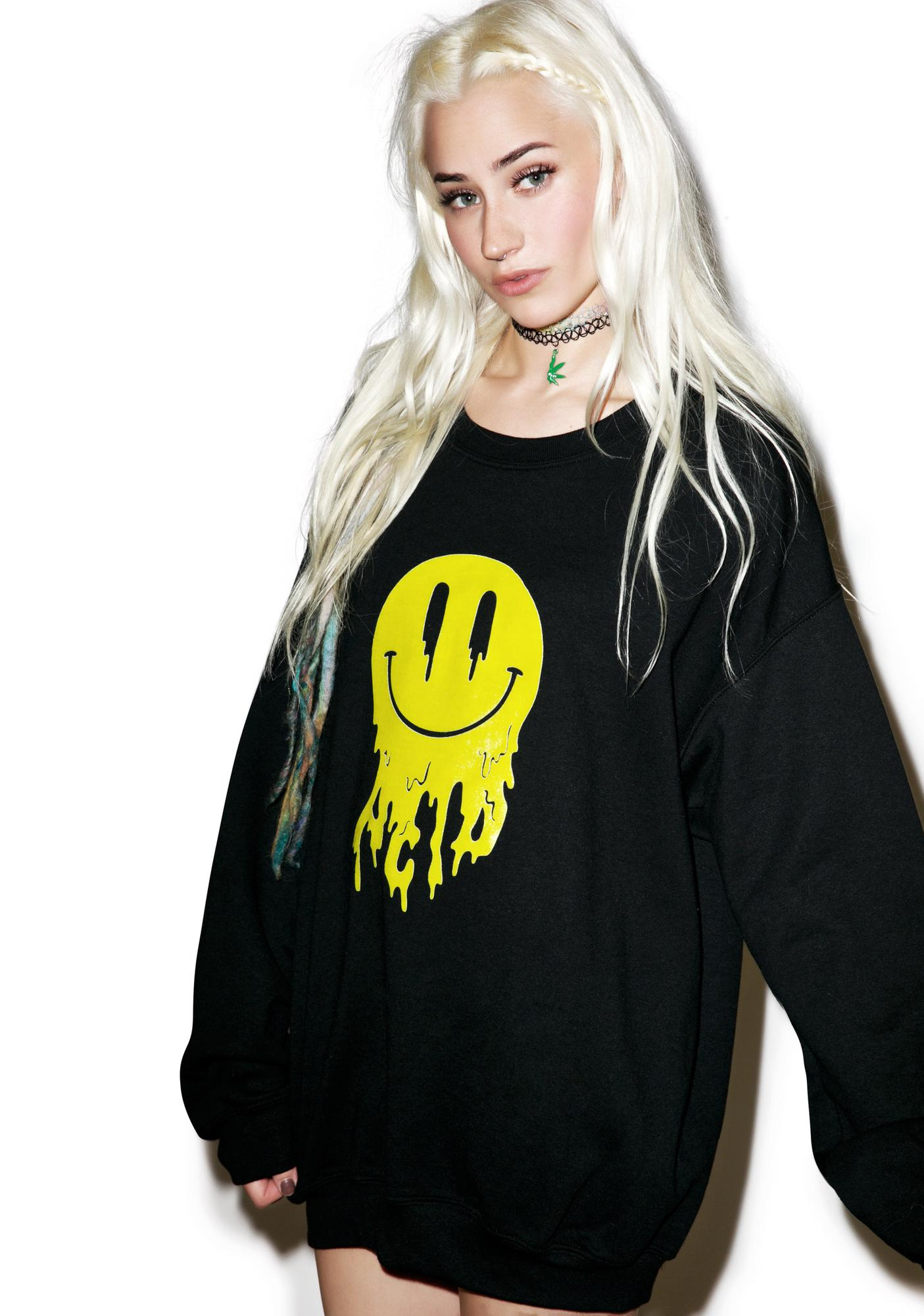 Moon River Collective Acid Trippin' Sweatshirt