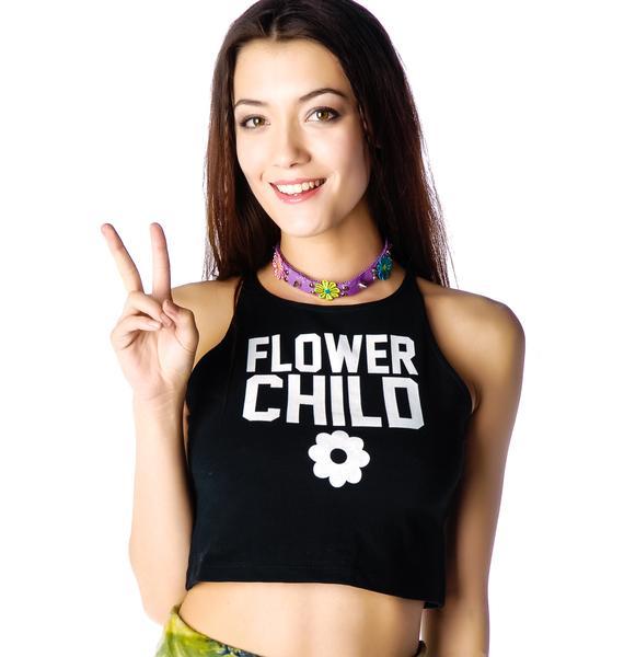 Flower Child Crop Tank