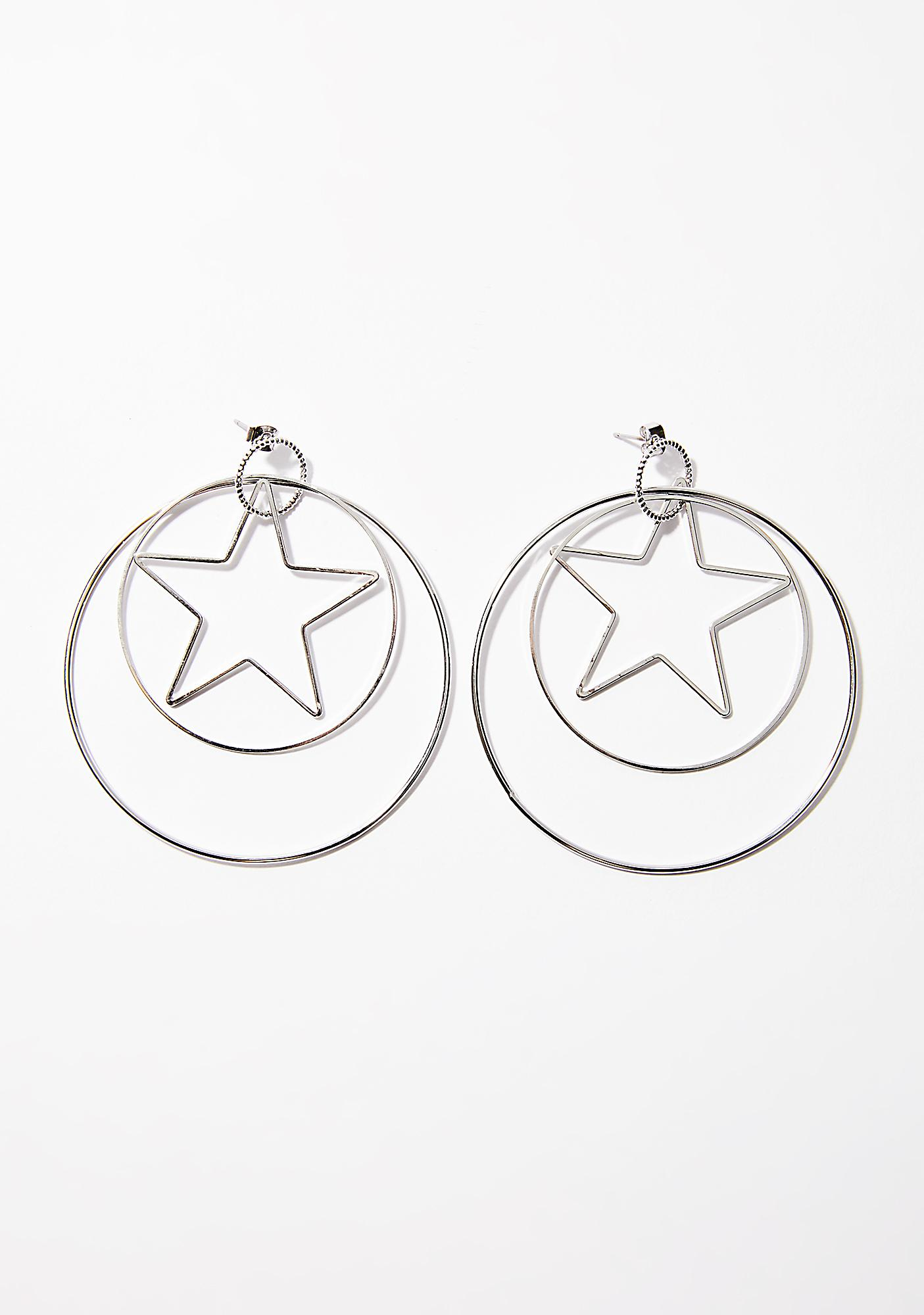 Luna Lover Hoop Earrings