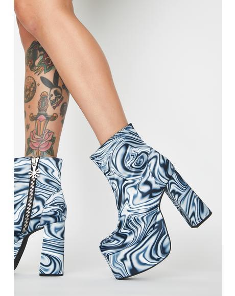 Whirl Of Wonder Platform Boots