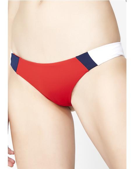 Racer Bikini Bottoms