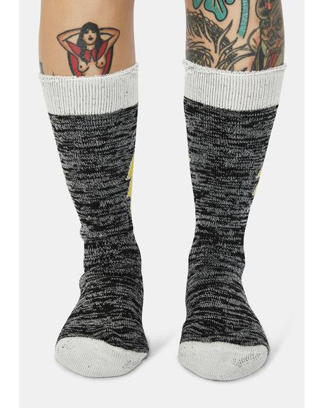 Winter Bolt Socks