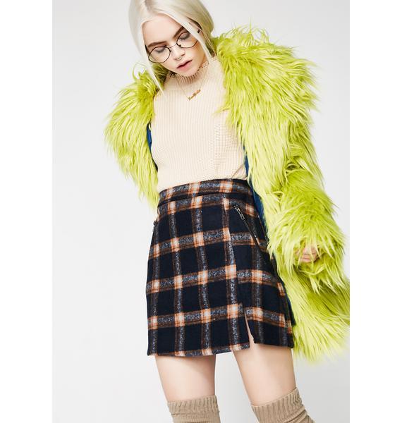 Midnight Valley Gurl Mini Skirt