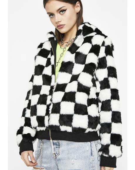 It's All Good Checkered Jacket