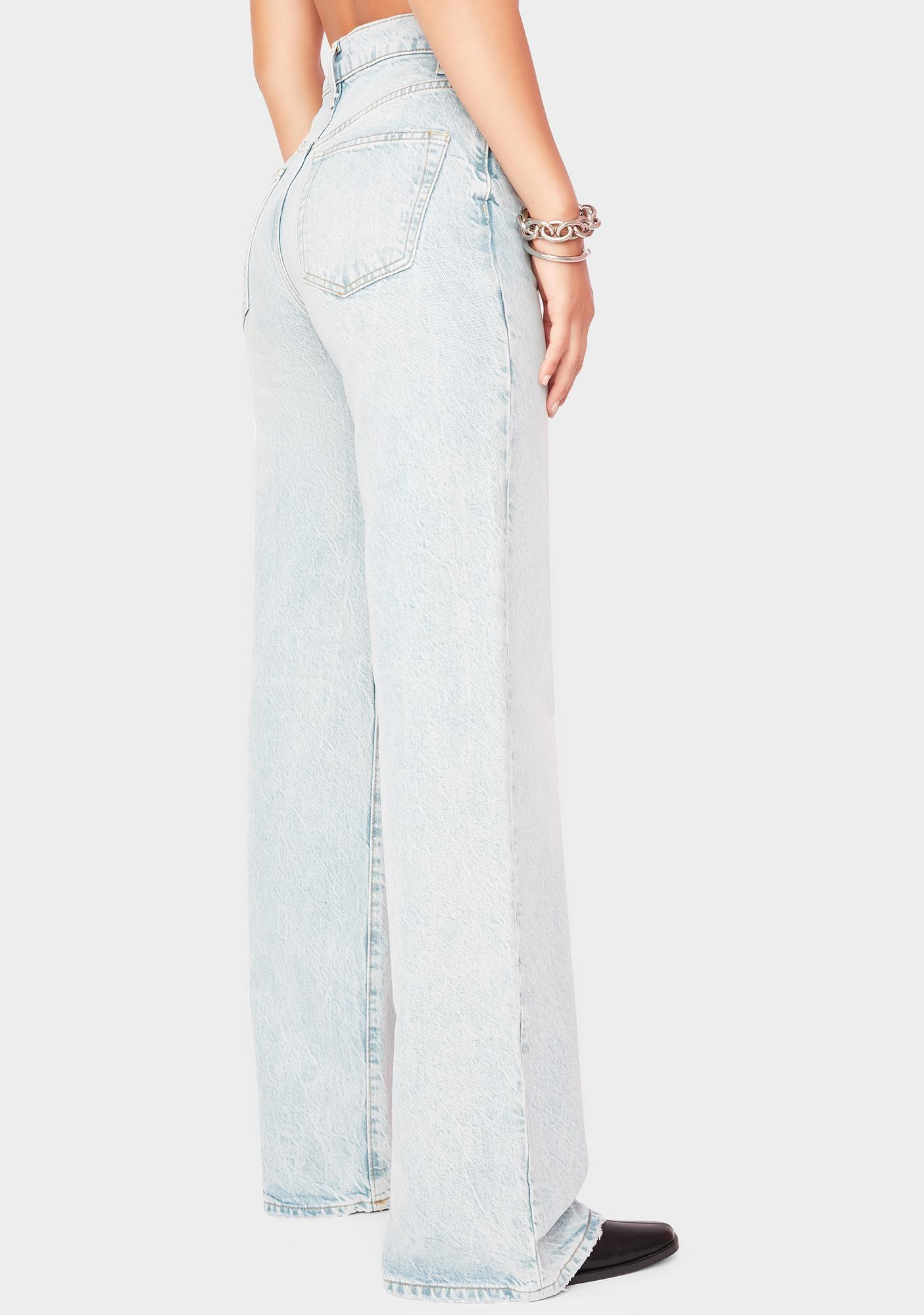 Free People Astoria Wide Leg Jeans