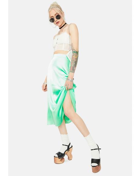Picnic Ready Midi Slip Skirt