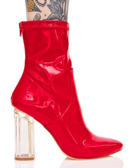 Patent Grande Finale Boots